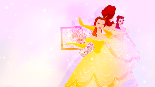 Disney Princess Wallpaper Possibly With A Bouquet Titled The Beauty And Beast