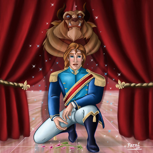 Beauty and the Beast wallpaper called                 Adam