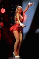 Ariana Grande performing on ciuman FM'S Jingle Ball in Los Angeles
