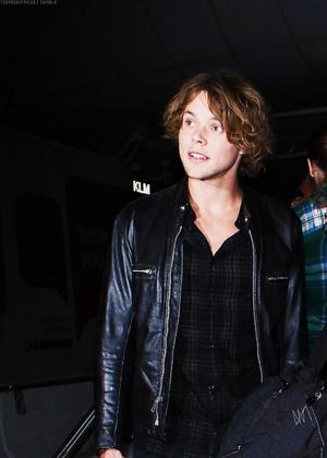 Ash at Sidney Airport