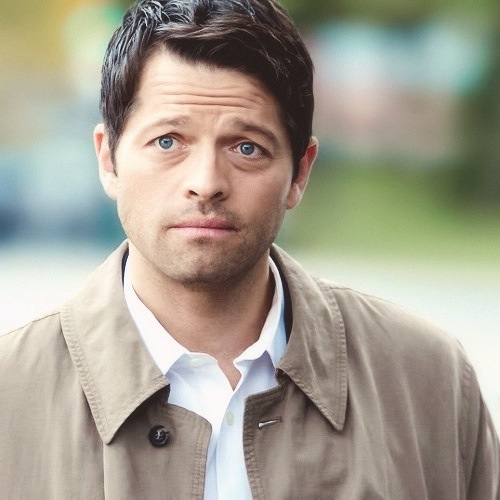 Castiel fond d'écran probably containing a pois, pea veste called ☾ Castiel ☽