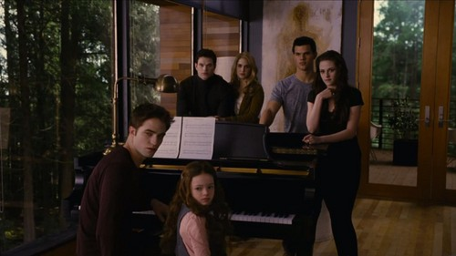 Twilight Series wallpaper with a pianist, a grand piano, and a concert grand called                Cullens
