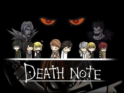 Death Note achtergrond called Death Note