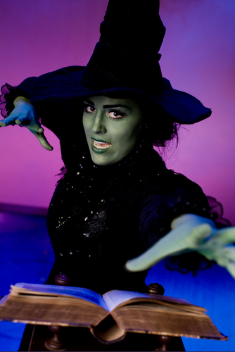 Wicked wallpaper titled                 Elphaba