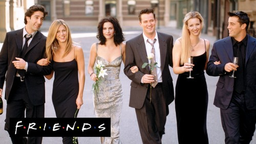 Friends wallpaper with a business suit called              Friends