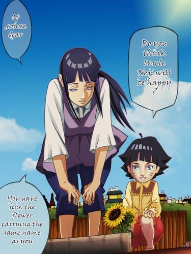 Naruto - Shippuden wallpaper with Anime entitled *Hinata / Himawari*