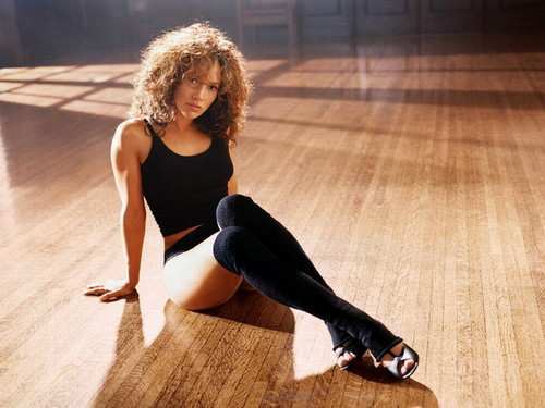 Jennifer Lopez wallpaper with a leotard and tights called  Jennifer