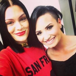 Jessie J and Demi