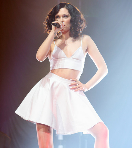 Jessie J wallpaper probably containing a cocktail dress called     ღ Jessie J