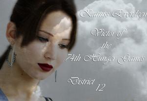 Katniss Everdeen District 12 Victor