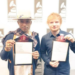 Pharrel and Ed