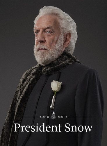 The Hunger Games پیپر وال entitled President Snow