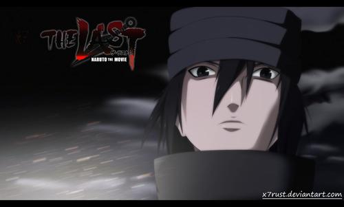Sasuke Ichiwa fond d'écran entitled *Sasuke Uchiha :Naruto The Movie Last:*