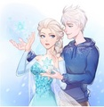 ❄️Snow Angels❄️ - elsa-and-jack-frost fan art