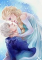 ⛄️SnowQueen +Frosty⛄️ - elsa-and-jack-frost fan art