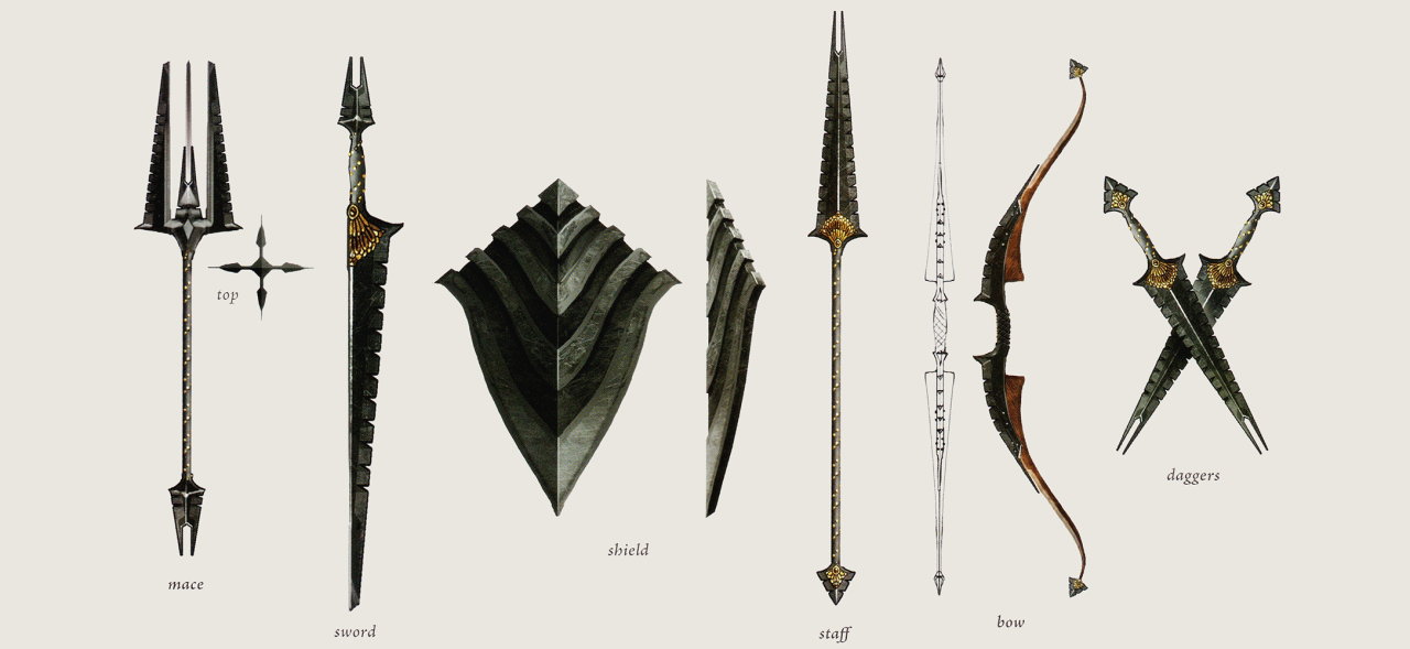 Dragon Age Origins обои The Venatori Concept Art In The Art Of