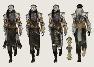 The Venatori concept art in The Art of Dragon Age: Inquisition
