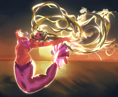 Mermaid Melody Hintergrund possibly containing a bouquet titled »ʟᴜᴄʜɪᴀ ɴᴀɴᴀᴍɪ