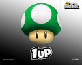 1-Up Mushroom Background