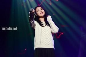 141122 IU at AKMU's concert