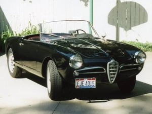 1958 Alfa Romeo Giulietta labah-labah, laba-laba