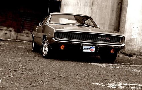 voitures de sport fond d'écran probably with a sedan and a coupé called 1969 Dodge Charger