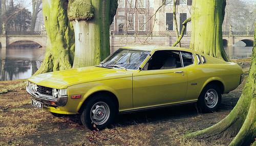 voitures de sport fond d'écran probably containing a coupe, a convertible, and a sedan called 1974 Toyota Celica GT