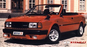 1986 Skoda Rapid Cabrio