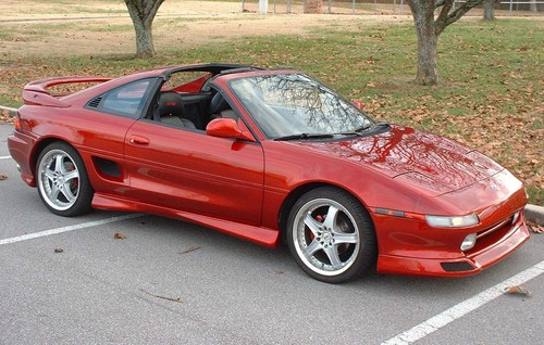 voitures de sport fond d'écran probably containing a roadster and a convertible titled 1989 Toyota MR2