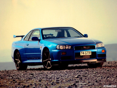 voitures de sport fond d'écran with a sedan and a coupé called 1998 Nissan Skyline