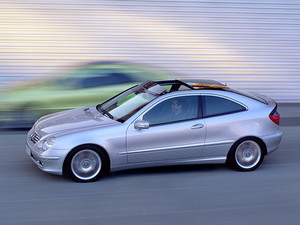 2002 Mercedes C-Class Coupe
