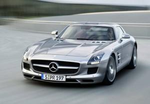 2012 Mercedes SLS AMG