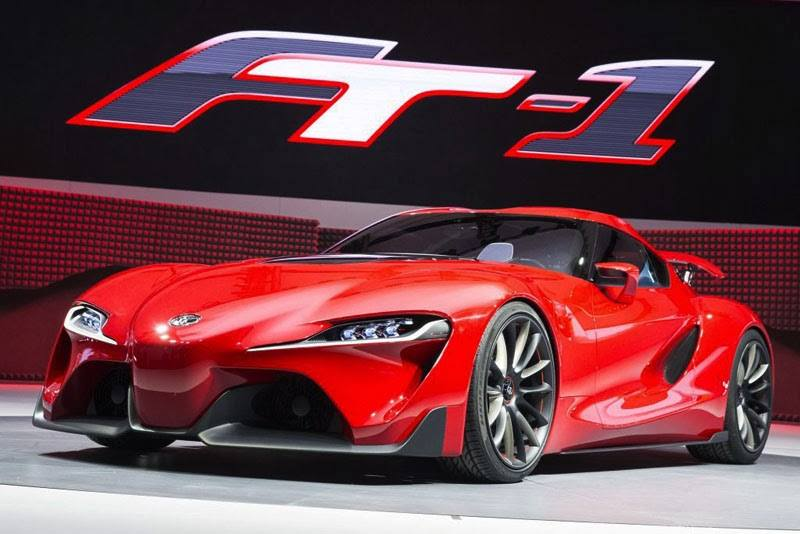 2014 Toyota FT-1 Concept