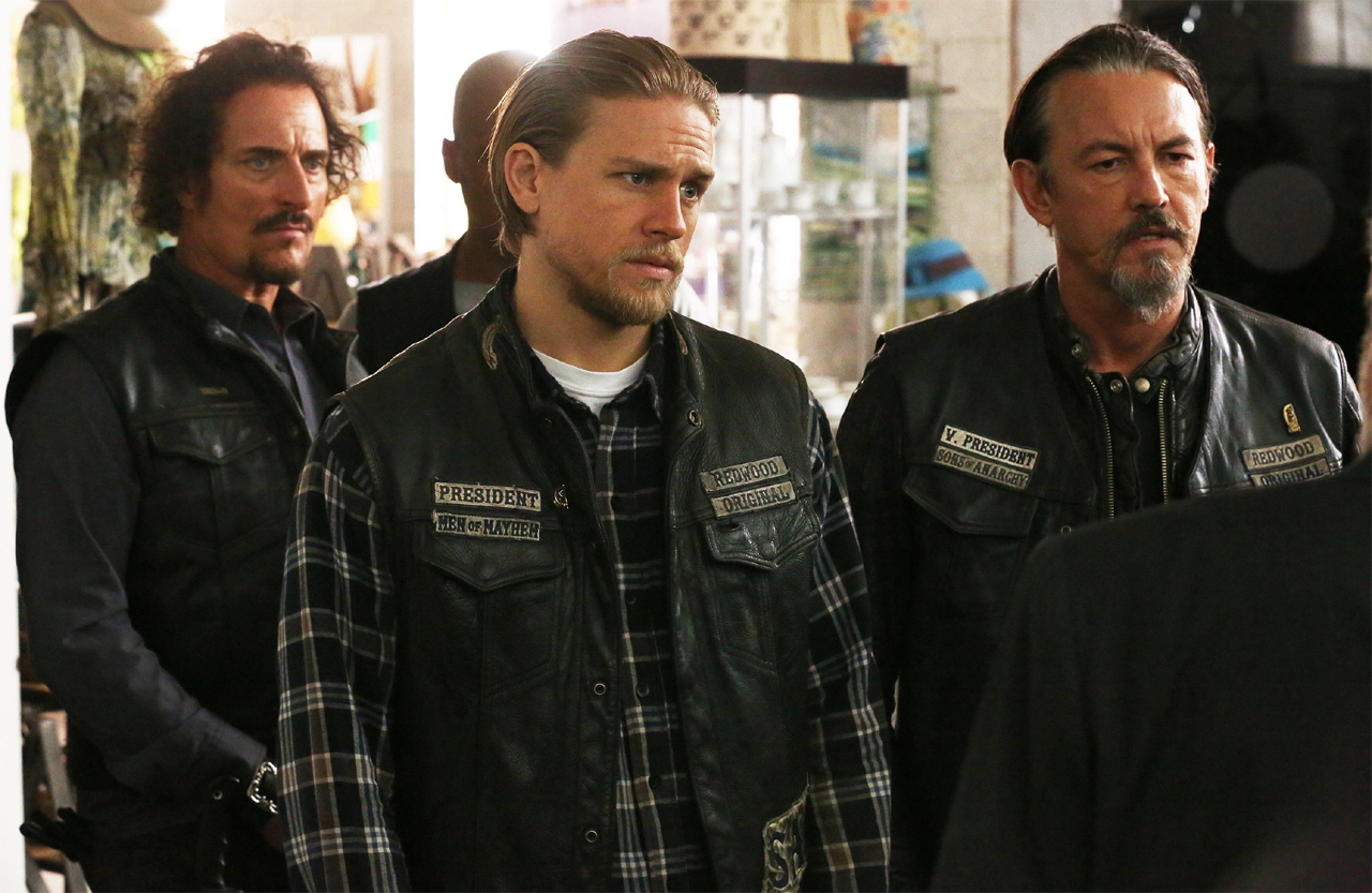 7x12 - Red Rose - Tig, Jax and Chibs