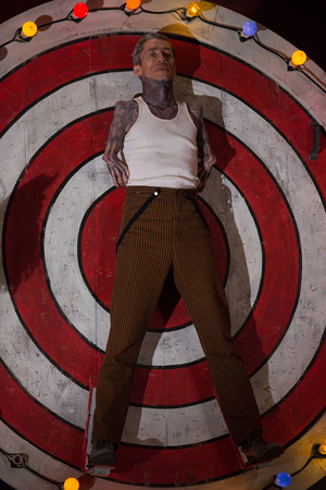 "AHS Freak toon ""Bullseye"" (4x06) promotional picture"