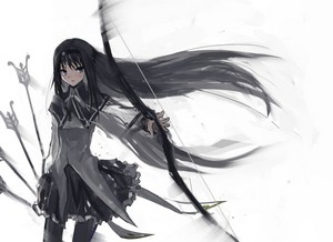 Akemi Homura's Bow and 《绿箭侠》