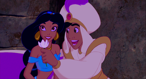 Walt Disney Screencaps - Aladdin and Jasmine