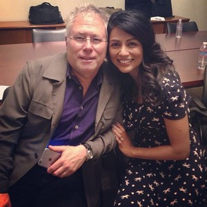 Alan Menken and Karen David