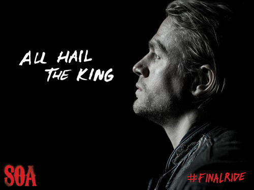 Sons of anarchy images all hail the king hd wallpaper and background sons of anarchy wallpaper with a concert entitled all hail the king voltagebd