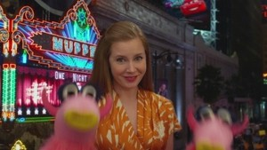 Amy in the muppets