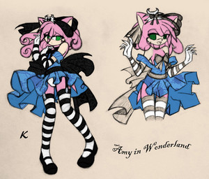 Amy in wonderland