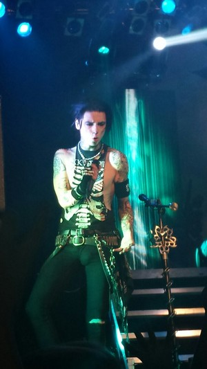 Andy....Black Mass Tour 2014