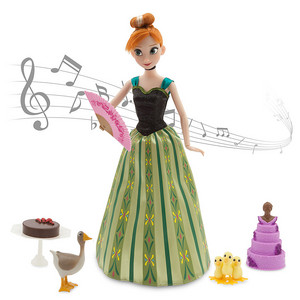 Anna Deluxe Talking Doll Set - 11''