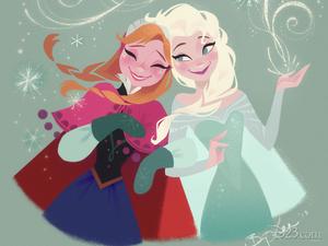 Anna and Elsa wolpeyper