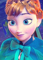 Frozen wallpaper titled Anna
