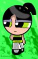 Another one, because I can.  - buttercup-powerpuff-girls fan art