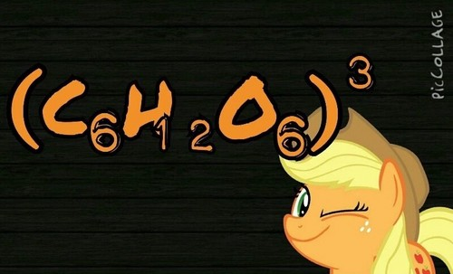 My Little Pony Friendship is Magic wallpaper with a sign titled Applejack!