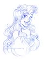 Ariel      - the-little-mermaid fan art