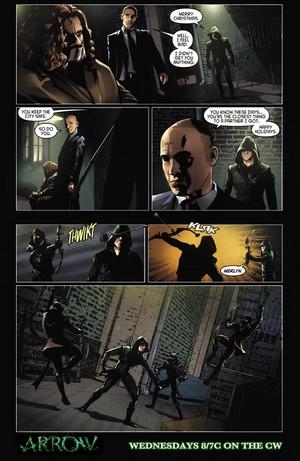 Mũi tên xanh - Episode 3.09 - The Climb - Comic xem trước