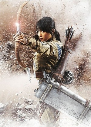 Attack On Titan live action charachter posters